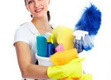 خادمه وخدم يطلب عملا في التنظيف.الشركات والمكاتب والمطاعم والفنادق.يومي/شهري