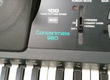 أورج Optimus concertmate 980 electric بحالة كسر الزيرو