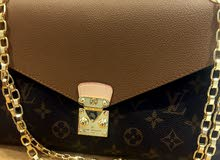 Louis Vuitton Chain Bag, Real Leather, A1 Copy