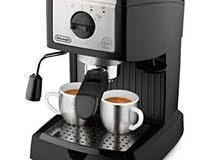 ماكينة قهوة ايطالية شبه جديدة