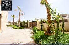 شقة شبه ارضية جديدة للبيع ضاحية النخيل 250م مع ترس وحديقة 350م 4 نوم مع امكانية التقسيط
