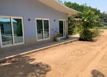 مزرعه للبيع في منطقه الحليو2 يوجد بها جميع الخدمات (كهرباء.ماء) وابار للمياه