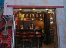 مطعم برغر وشاورما للبيع في الدوار السابع - شارع عبد اللّه غوشة -بجانب نفق السابع