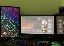 Gaming Setupللبيع  جيمينق سيت اب كامل