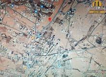 ارض للبيع في شفا بدران / ابو القرام على الشارع الرئيسي .