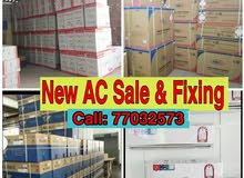 new AC selling and fixcing