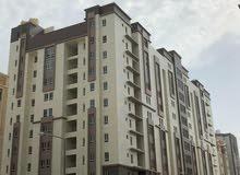للايجار بمجمع راقي شقة 3 غرف وصالة وحمامين ومطبخ