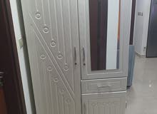 Clothes Cabinet ( 2 doors ) 3 unitsخزائن ملابس نظيفة جداً