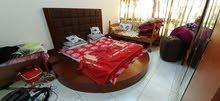 Wooden round bed