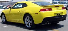 Camaro (Yellow & black) 2014 in well maintained condition for immediate sale