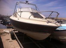 قارب امريكى نوعه كريس لاين مستعمل يوجد به حجره صغيره