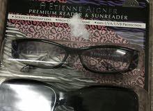 نظارات طبية وارد أمريكا أصليات مية من مية