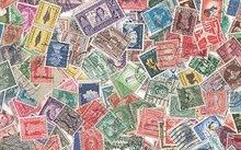 مجموعة طوابع بريدية قديمة