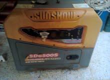 مولد كهرباء قوته 6500 نوع صن شو ( SUN SHOW  )