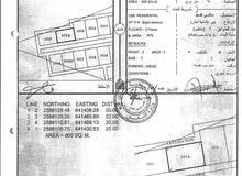 أرض للبيع العامرات*مدينة النهضه 1/14*