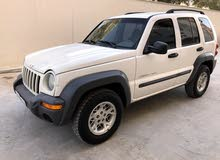 Jeep Liberty 2004 For sale - White color