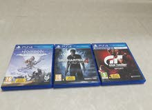 العاب PS4 للبيع او التبادل