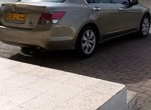 Gold Honda Accord 2008 for sale