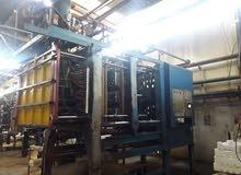 ماكنات انتاج صناديق بولسترين مستعملة للبيع Ploystyrene shape moulding machines