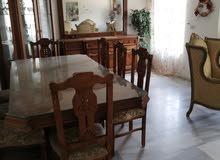 شقة كبيرة مفروشة او غير مفروشة في مرج الحمام للايجار