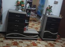 غرفة نوم منشأ تركي سبع قطع مستخدم نظيف جدا