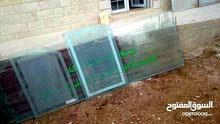 3بواب خشب+ واجهات ألمنيوم +اباب ألمنيوم زجاج سكريت قياسات مختلفه