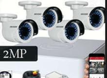تعلن شركة الرؤيا التقنية عن اقوي عرض كاميرات مراقبة فقط ب150د شامل التركيب