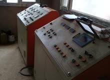 مصنع بومشي حديث الي لصناعة الطوب الاسمنتي