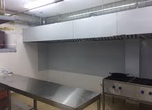 مطعم مع سرداب مطبخ مركزى مجهز بالكامل