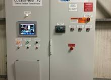 تصميم وصيانة لوحات PLC ولوحات التحكم الخاصة في خطوط الانتاج ونظمة التحكم BMS