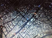 ارض للبيع تجاري مساحة 930 متر حي نزال شارع الدستور واجهة 36 متر