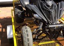 دراجة رابتر 700 عزم وفيها تزويد وبرمجه كمبيوتر
