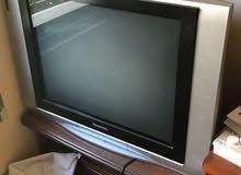 تلفزيون باناسونيك مربع شغال بحالة جديدة بسعر مغري