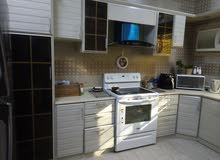 مطبخ مستخدم سنتين نظيف جدا