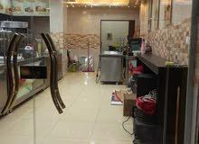 مطعم للبيع في مرج الحمام مع كافة معداتو بابين اجار سنوي 10000