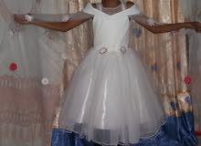 فستان عرائسي جميل للفتيات من سنه الى 15 سنه