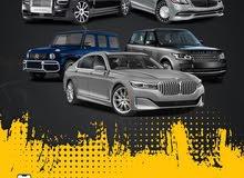سيارات فخمه ورياضيه للإيجار بأرقام خاصه (اصفر) مميزه