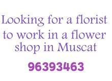 منسق ورد. florist