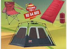 Coleman 4Person Instant Tent Combo