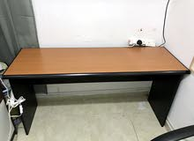Old Office Table and Chairs