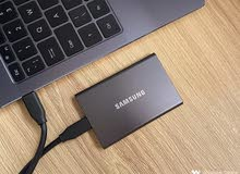 SAMSUNG T7 Portable SSD 1TB - Gray