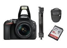 كاميرا نيكون D5600