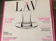 LAV Turkish Tea glasses