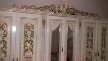 غرفة نوم مستعملة كبيرة كاملة، تخت مجوز ،كوماندينا ع2 ،توليت، عامود، جزانة اربع ظ