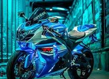 مطلوب دراجة سوزوكي سبورت 600 - 750 - 1000 اي لون بنظام اقصاد
