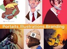 مصمم جرافيك و رسام محترف (5سنوات خبرة)