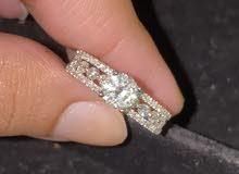 خاتم الماس سوليتير جديد