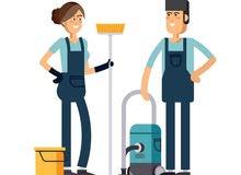 مؤسسة تشغيل وصيانة ونظافة للبيع