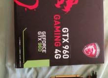 كرت شاشه  MSI GTX 960 4GB GAMING OC