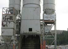 مصنع باطون ريدي ميكس بريطاني اصلي 100 طن/ ساعة